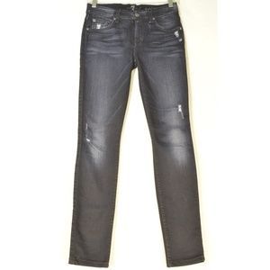 7 For All Mankind jeans 25 x 29 the Skinny ankle b